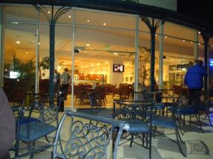 Royal Plaza Hotel patio at Tiberius